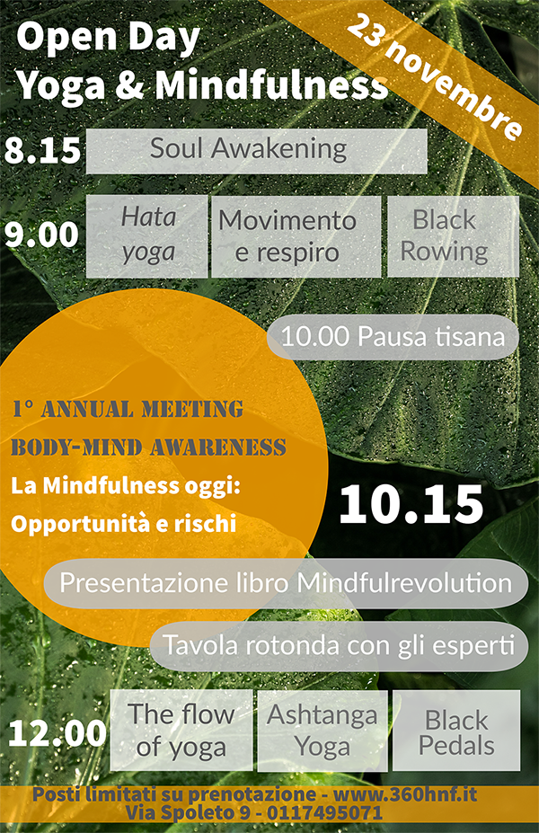 Open Day Yoga & Mindfulness